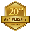 Calm Waters Rowing celebrates its 20th anniversary in 2020!